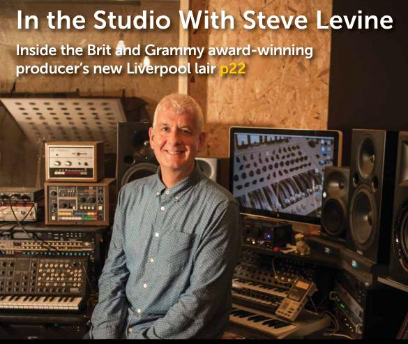 Steve Levine in studio