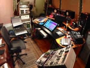Raven in studio