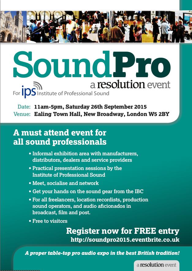 SoundPro event