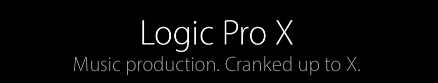 Logic Pro X banner
